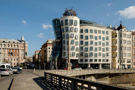 Dancing house (Fred and Ginger)